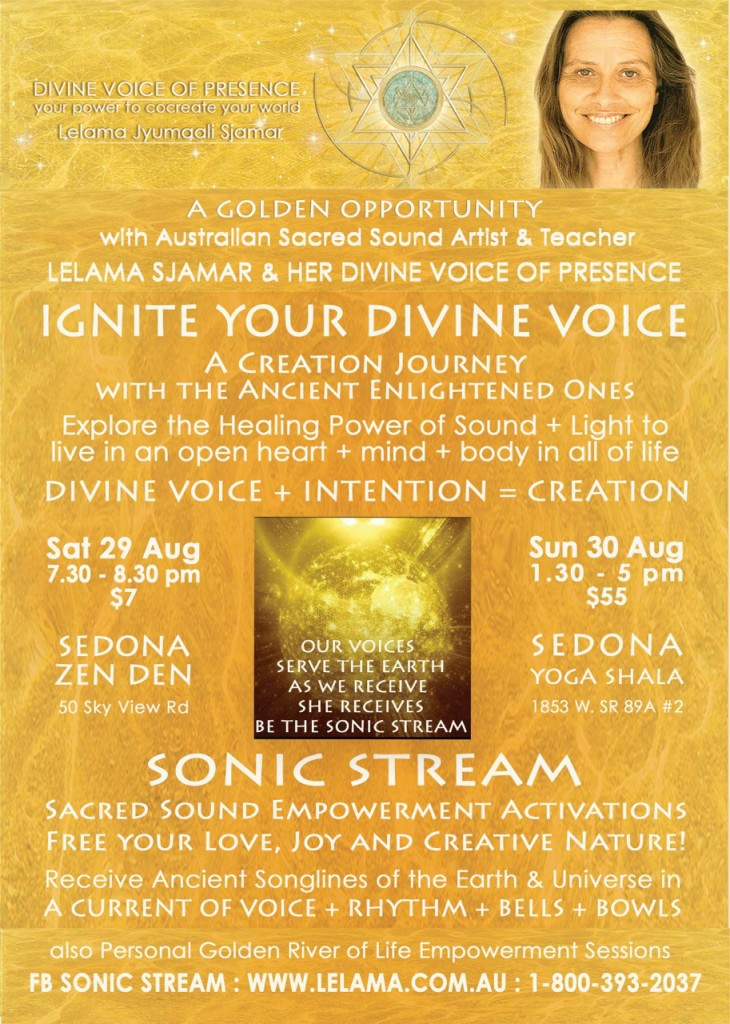 Sonic Stream - Ignite Your Divine Voice Sedona August 2015 for Web